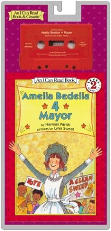 9780060093457: Amelia Bedelia 4 Mayor Book and Tape [With Book] (I Can Read Book & Cassette)