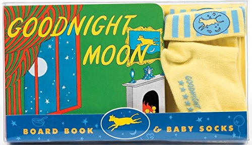 9780060094270: Goodnight Moon Board Book & Baby Socks [With Baby Socks]