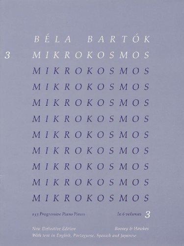 9780060097332: Bela Bartok Mikrokosmos 3