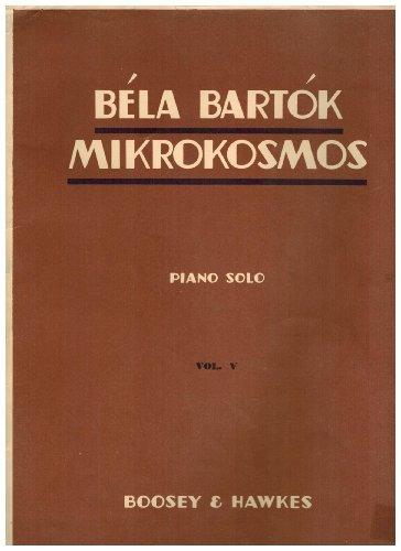 9780060097356: Bela Bartok Mikrokosmos 5