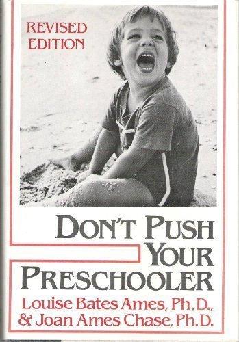 9780060100834: Don't Push Your Preschooler