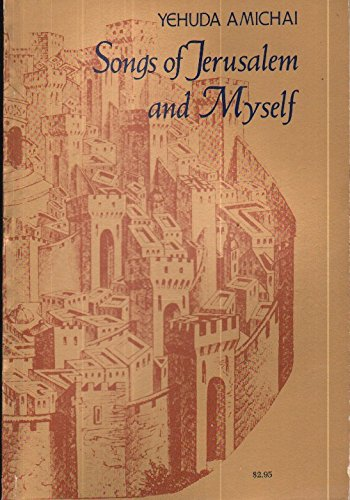 9780060101015: Songs of Jerusalem and myself