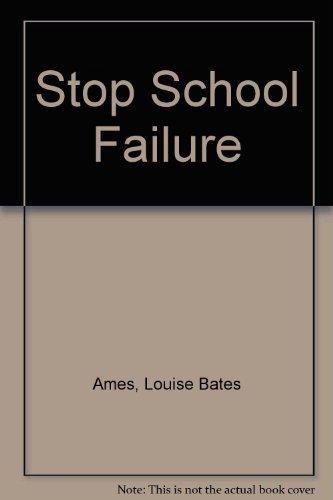 9780060101145: Stop School Failure