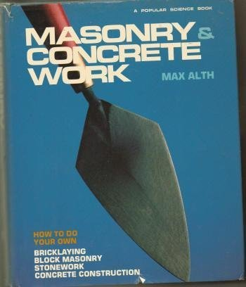 9780060101435: Masonry and Concrete Work