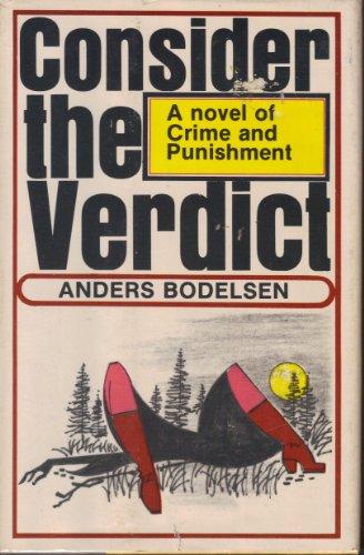 9780060104085: Consider the verdict (A Harper novel of crime and punishment)