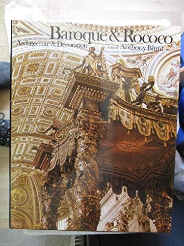 9780060104177: Baroque and Rococo Architecture and Decoration