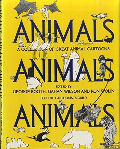 9780060104290: Animals Animals Animals: A Collection of Great Animal Cartoons