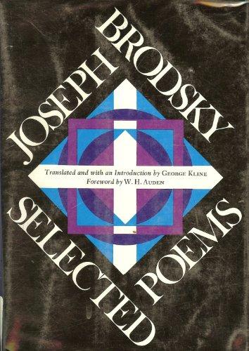 9780060104849: Joseph Brodsky, Selected Poems