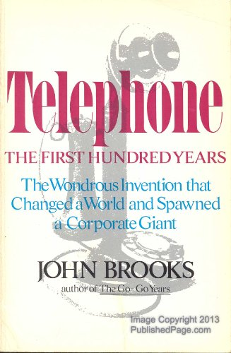 9780060105402: Telephone: The First Hundred Years