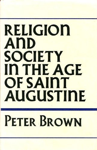 9780060105549: Religion and society in the age of Saint Augustine