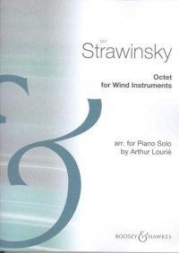 9780060106508: Octet for Wind Instruments (Arrangement for Piano solo)