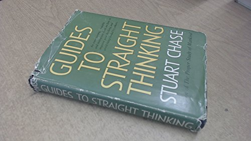 9780060107109: Guides to Straight Thinking: With Thirteen Common Fallacies