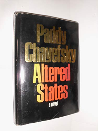 9780060107277: Altered States: A Novel