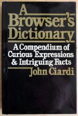 9780060107666: A Browser's Dictionary