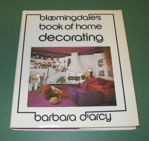9780060109486: Bloomingdale's Book of Home Decorating