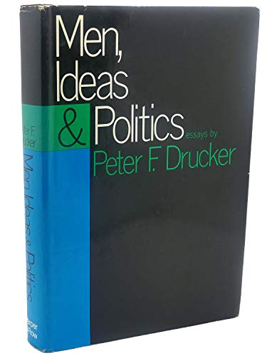9780060110918: Men, Ideas and Politics; Essays,