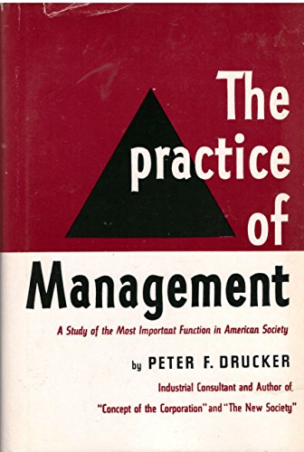 9780060110956: The Practice of Management