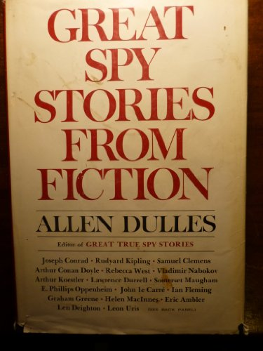 9780060111243: Great Spy Stories from Fiction