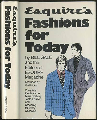 9780060111847: Esquire's fashions for today,