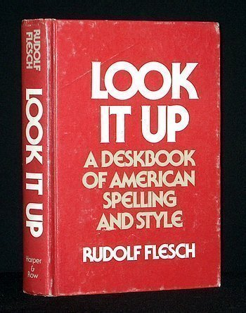 9780060112929: Look It Up: A Deskbook of American Spelling and Style