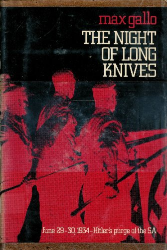 9780060113971: The Night of Long Knives