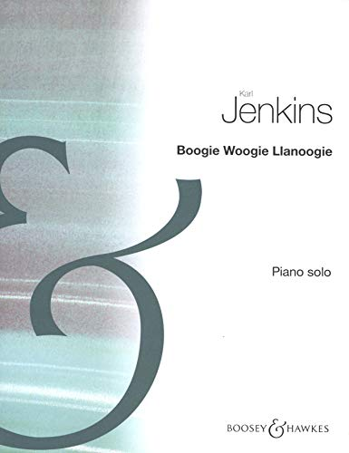 9780060114299: Boogie Woogie Llanoogie for Piano Solo by Karl Jenkins