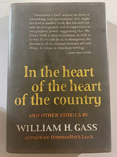 9780060114688: In the Heart of the Heart of the Country, and Other Stories
