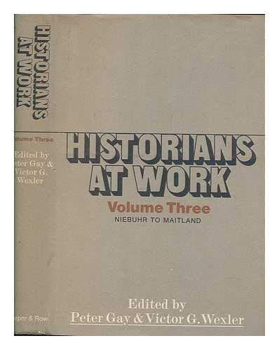 9780060114749: Historians at Work (vol. 003)