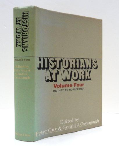 9780060114763: Historians at Work, Vol. 4