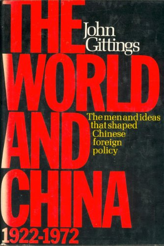 9780060115760: The World And China, 1922-1972
