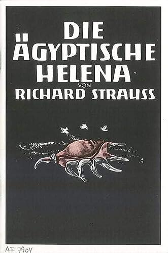 9780060116910: Die Ägyptische Helena Op. 75 - Textbook/Libretto - BOOK