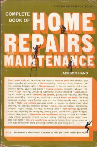 9780060117436: Complete Book of Home Repairs and Maintenance.