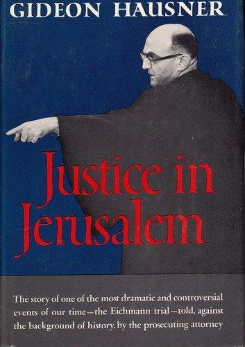 9780060117757: Justice in Jerusalem