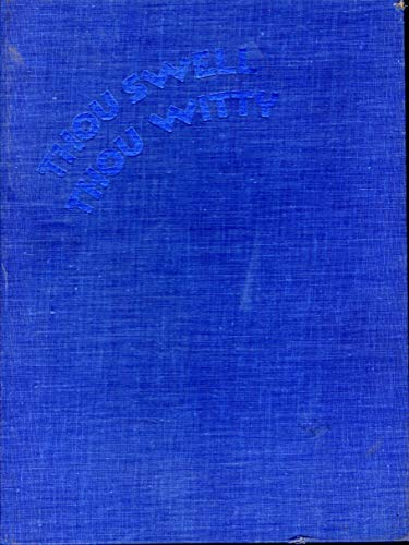 9780060117764: Thou swell, thou witty: The life and lyrics of Lorenz Hart