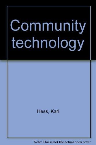 9780060118747: Community Technology