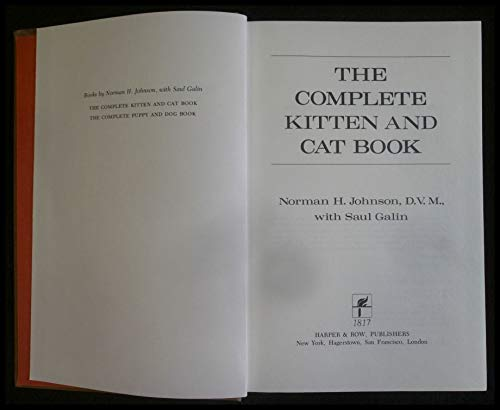 9780060121341: The complete kitten and cat book