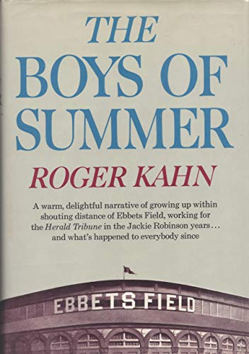 9780060122393: The Boys of Summer