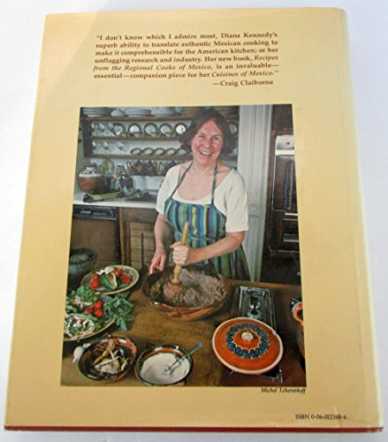 9780060123482: Recipes from the Regional Cooks of Mexico