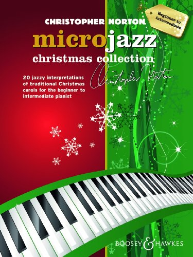 9780060123840: Microjazz Christmas Collection - 20 jazzy interpretations of traditional Christmas carols for the beginner to intermediate pianist - piano - ( BH 12384 )