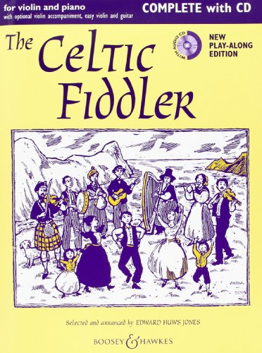 9780060124038: The Celtic Fiddler for Violin and Piano (Book & CD)