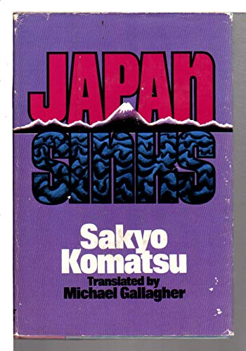 9780060124496: Japan sinks
