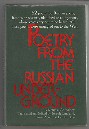 9780060125011: Poetry from the Russian underground;: A bilingual anthology