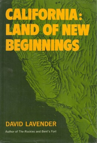 9780060125240: California: Land of New Beginnings
