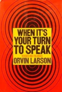 9780060125264: When it's your turn to speak
