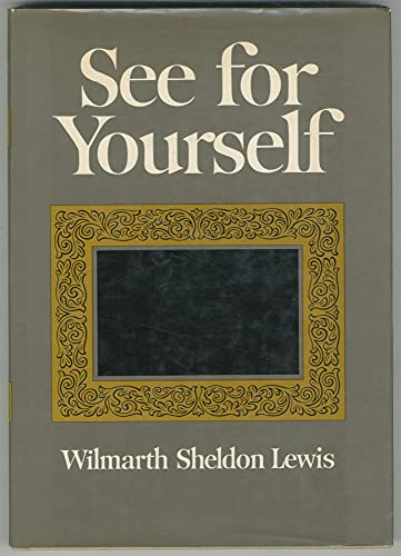 9780060126018: See for yourself (A Cass Canfield book)