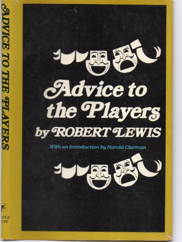 9780060126155: Advice to the Players