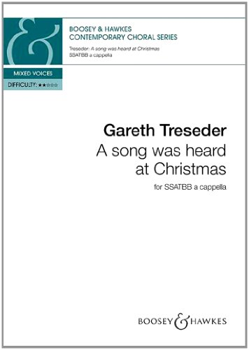 9780060126537: A Song was Heard at Christmas - Contemporary Choral Series - mixed choir (SSATBB) a cappella - choral score - ( BH 12653 )