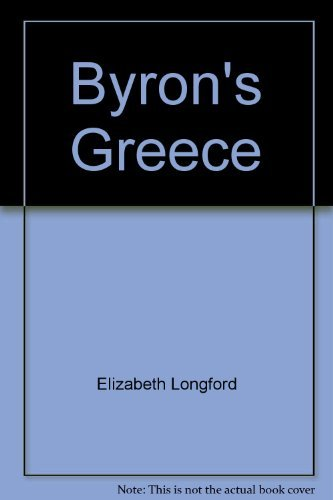 9780060126735: Byron's Greece