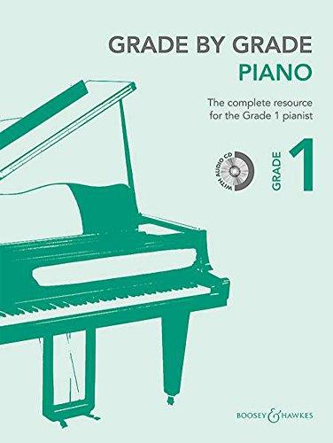 9780060126759: Grade by Grade - Piano - Grade 1 - edition with CD - ( BH 12675 )