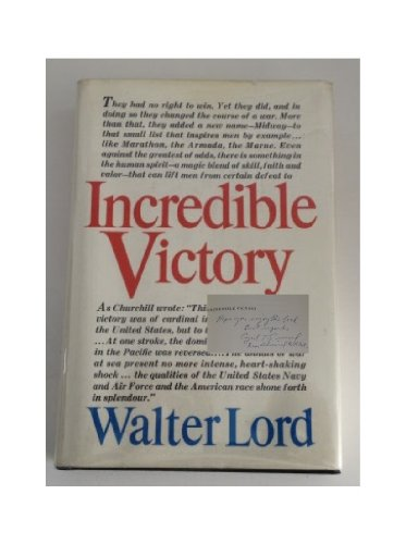 9780060126926: Incredible Victory
